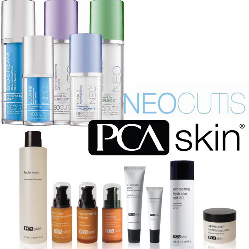 NeoCutis and PCA Skin Products